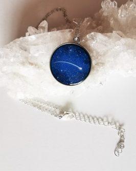 shootin gStar Necklace Blue
