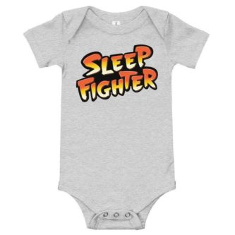 Sleep Fighter Street Fighter Onesies