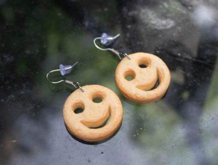 smiley fries earings funny stocking stuffer ideas for adults
