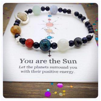 Solar System bracelet planets
