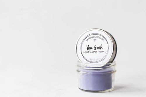 soy candle funny stocking stuffer ideas for adults