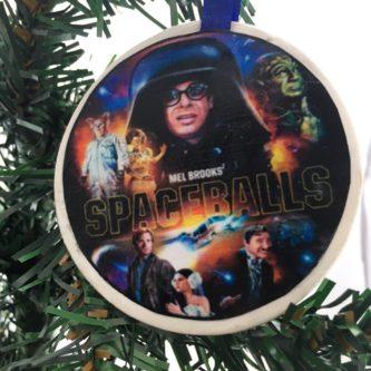 spaceball christmas tree ornament geeky & nerdy stocking stuffer ideas