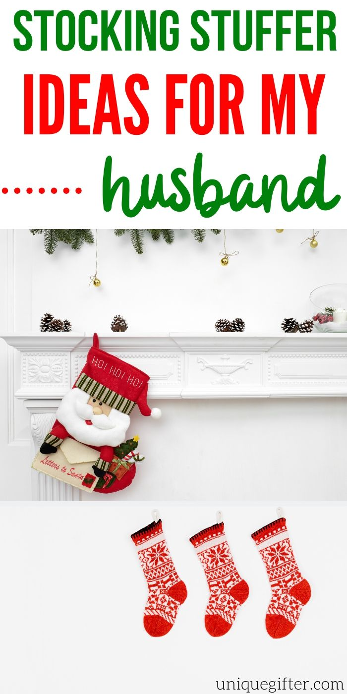Best Stocking Stuffer Ideas For Husbands | Gifts For Your Man | Creative Gifts For Husbands | Gifts Your Husband Is Going To Love | Husband Gift Ideas | Thoughtful Gifts For Your Man | #gifts #giftguide #presents #husband #stocking #christmas #best #easy Uniquegifter