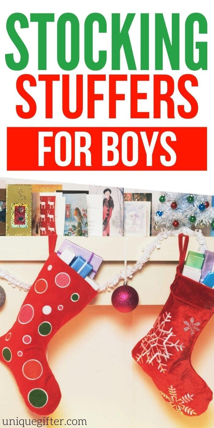 Best Stocking Stuffer Ideas for Boys | Christmas Shopping For Boys | Boys Stocking Stuffers | Creative Stocking Stuffers For Boys | #gifts #giftguide #presents #christmas #stockingstuffer #stocking #uniquegifter