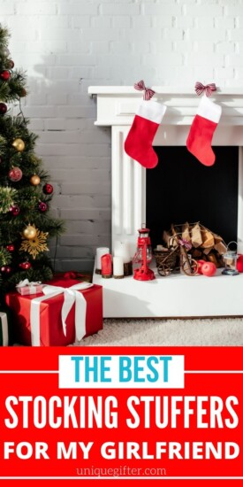 stocking stuffer ideas for my girlfriend