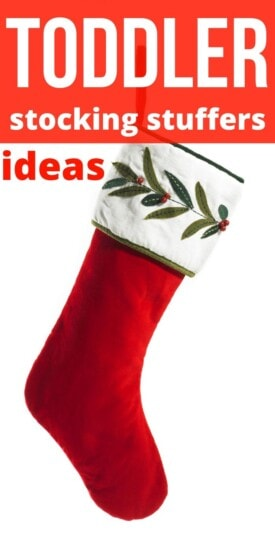 Best Stocking Stuffer Ideas for Toddlers | Gifts For Toddlers | Creative Stocking Stuffers For Kids | Gifts That Toddlers Will Love | #gifts #giftguide #presents #toddlers #stocking #stuffers #uniquegifter