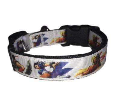 Street Fighter dog collar