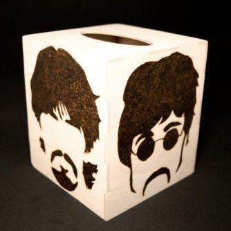 The Beatles Kleenex Box
