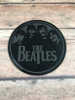 The Beatles Up-cycled Coasters