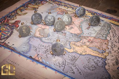 The Witcher coin collection gifts for witcher fans