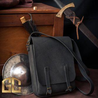 the wticher leather shoulder bag cosplay item