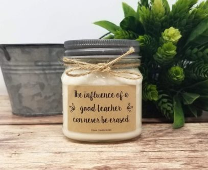 What to buy for cooperating teachers scented candle