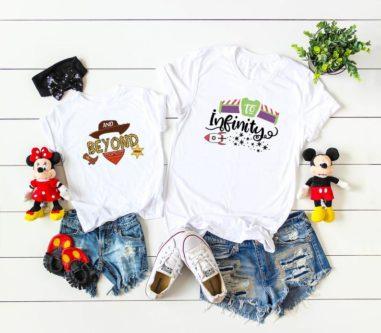 Toy Story Matching Shirt Set