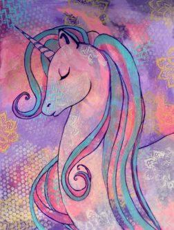 Unicorn Whimsy Print