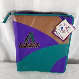 Vintage 90's Diamondbacks Binder