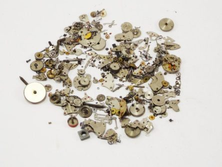 watchparts gears for making steampunk crafts ideas