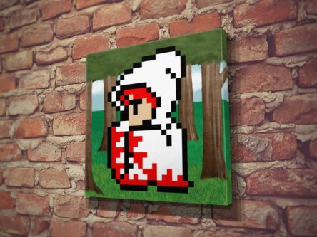 White Mage Canvas Print
