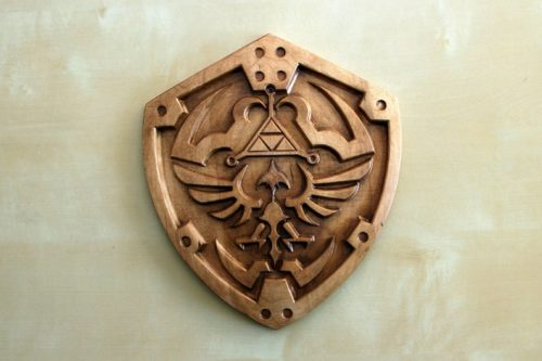 Wooden Hylian Shield