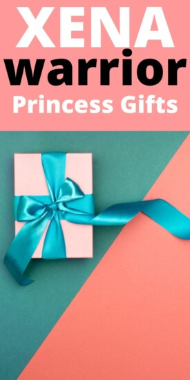 Best Xena Warrior Princess Gifts | Xena Warrior Princess Gift Ideas | Creative Gifts For People Who Love Xena | #gifts #giftguide #presents #xena #warriorprincess #uniquegifter