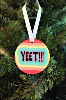 Yeet Ornament