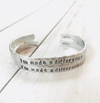 wristlet cooperating teachers gift idea