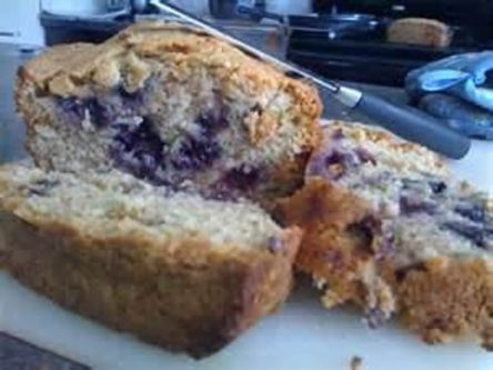 Zucchini Bread with Blueberries- 4 Loaves