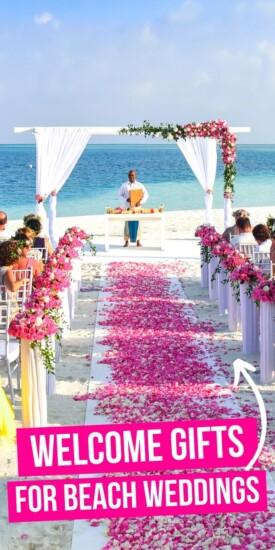 Best welcome gifts for beach weddings | Wedding Guest Gifts | Presents For Wedding Guests | Beach Wedding Guest Gifts | #wedding #beach #gifts #giftguide #presents #beachwedding #uniquegifter