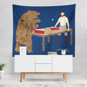 Beer Pong Tapestry
