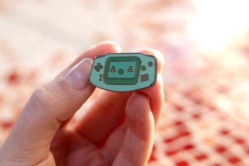 Gameboy Enamel Pin