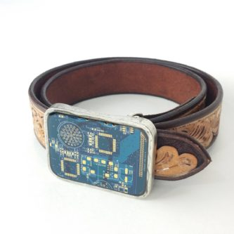Geeky Belt Buckle