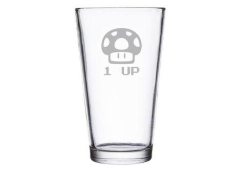 Mushroom Pint Glass