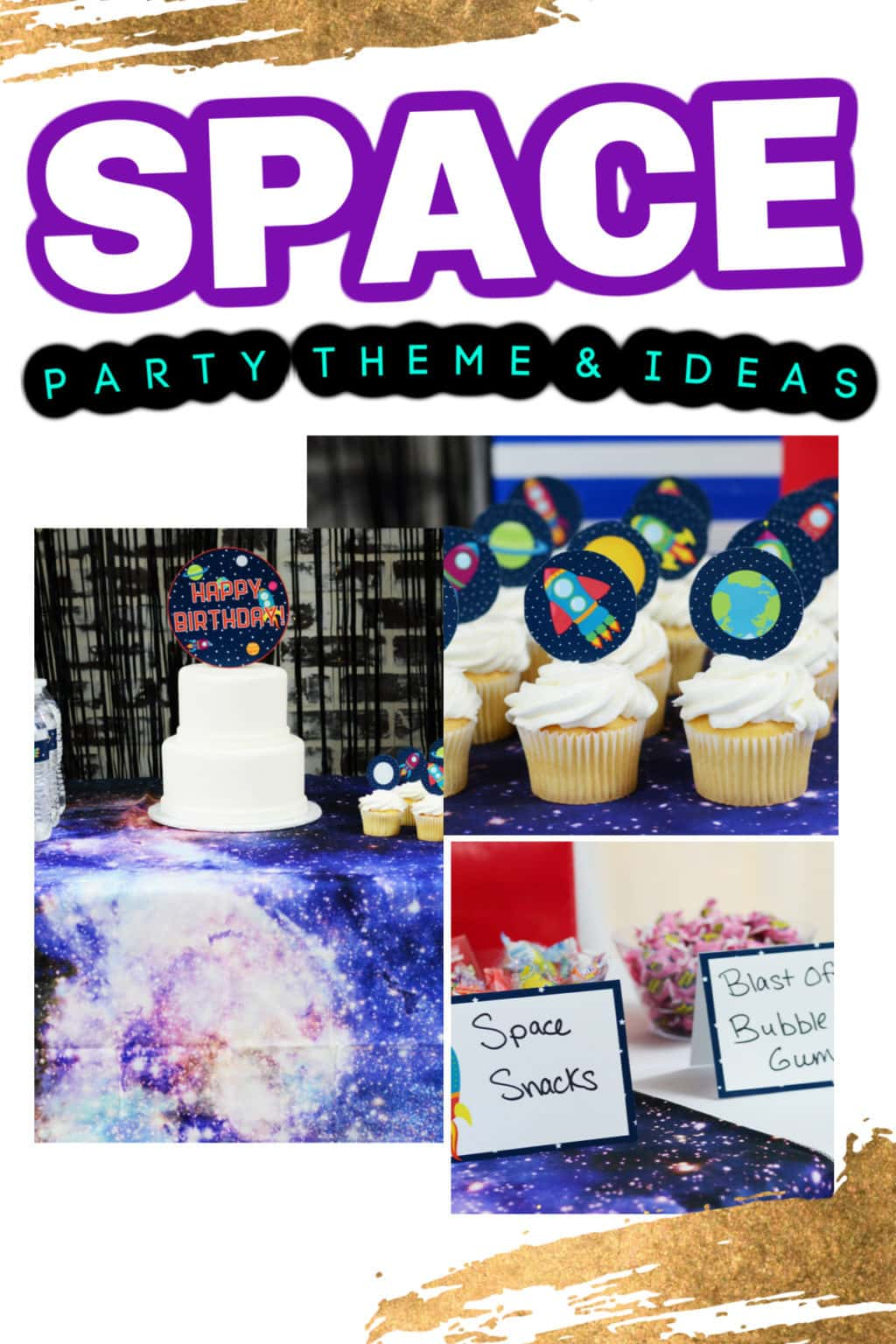 Space Party Ideas | Space Themed Gifts | Outer Space Gifts | Space Party Inspiration | Astronaut Gifts | Rocket Ship Gifts | Moon Cake | Planet Decorations | #space #partyplanning #party #gifting