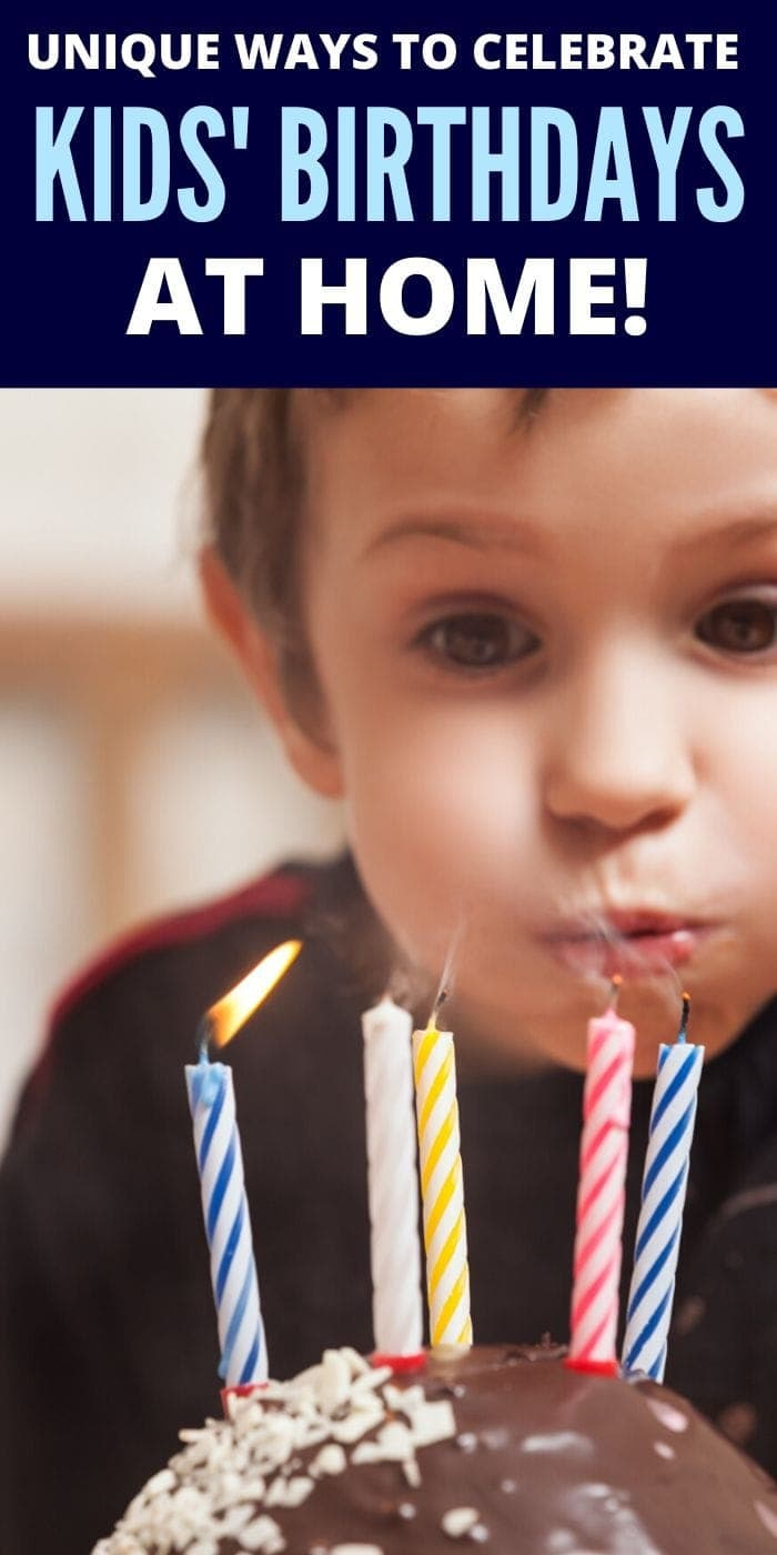 7 Unique Ways to Celebrate Kids' Birthdays at Home | Birthday Celebrations At Home | Celebrating Kids Birthday When Social Distancing | Creative Birthday Ideas | #birthday #celebration #home #unique #creative #uniquegifter