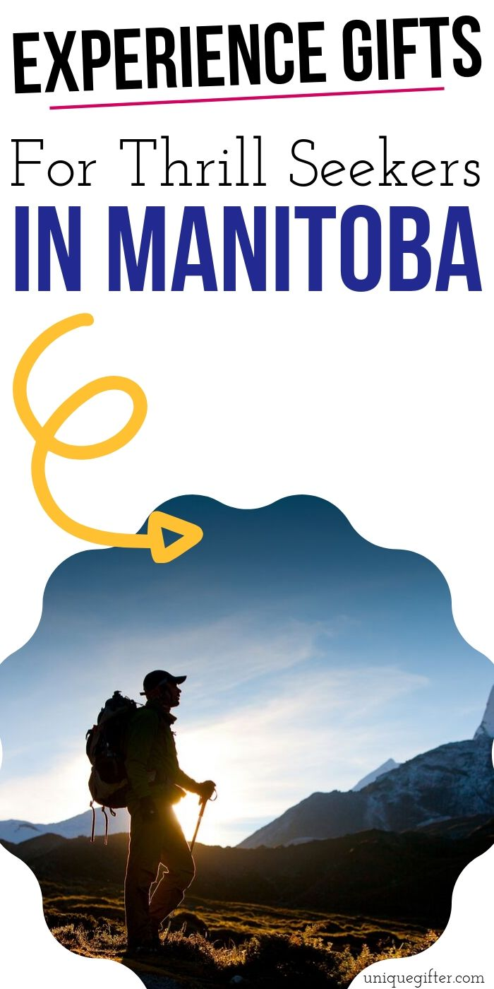Adrenaline Junkie Experience Gifts in Manitoba | Experience Gifts In Manitoba | Creative Gifts For Adrenaline Junkies | Unique Experience Gifts | Thrilling Experience Gifts | Adventure Experience Gifts | #gifts #giftguide #experience #adventure #manitoba #uniquegifter