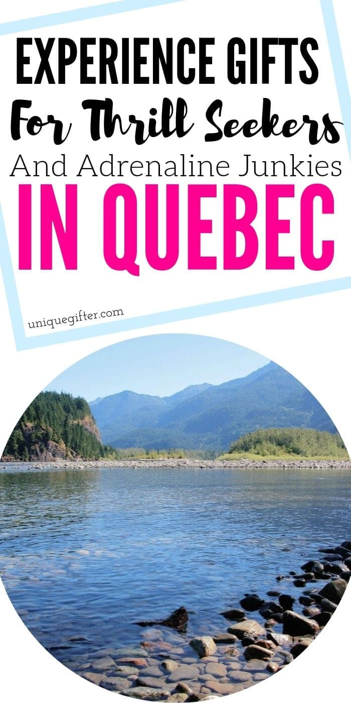Adrenaline Junkie Experience Gift Ideas in Quebec | Awesome Gifts For People Who Love Adventure | Creative Adventure Gifts In Quebec | Awesome Quebec Gift Ideas | Adventures In Quebec | #gifts #giftguide #presents #quebec #adventure #experience #uniquegifter