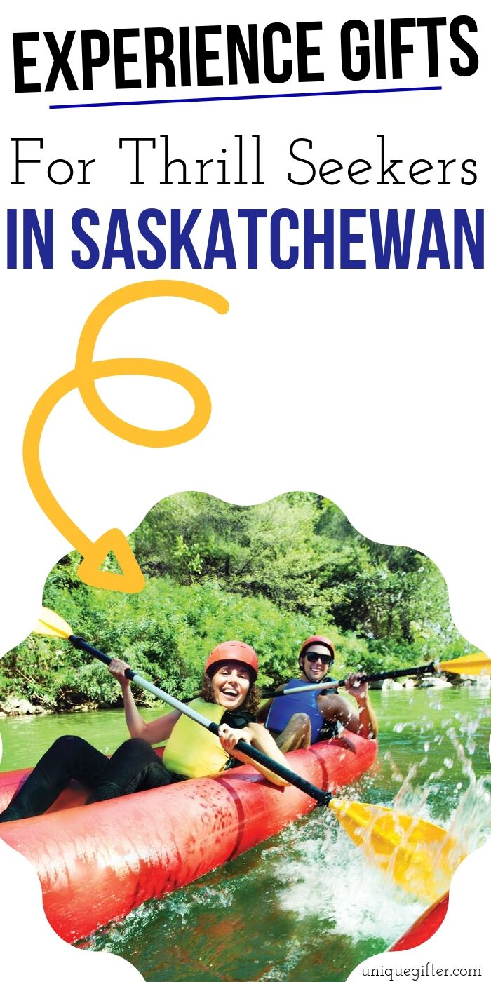 Adrenaline Junkie Experience Gift Ideas in Saskatchewan | Saskatchewan Gift Ideas | Adventure Gifts For Saskatchewan | Creative Presents For Saskatchewan Lovers | #gifts #giftguide #presents #saskatchewan #uniquegifter