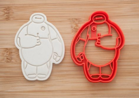 Baymax themed cookie cutters creative gift idea
