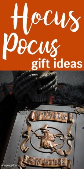 Best Hocus Pocus Gift Ideas | Movie Lover Gifts | Hocus Pocus Lover Gifts | Presents For People Who Love Hocus Pocus | Creative Hocus Pocus Presents | Awesome Gifts For Hocus Pocus Fans | #gifts #giftguide #presents #hocuspocus #movie #best #uniquegifter