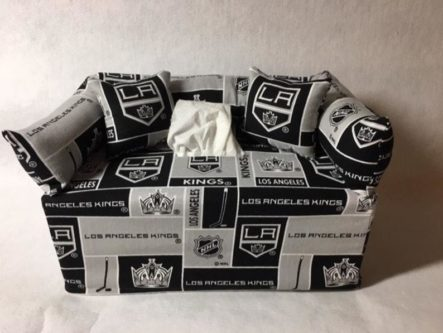 kings tissue box cover
