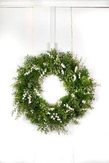 decorative wreath birth month flower gift ideas for may