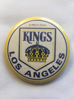 Kings hockey button