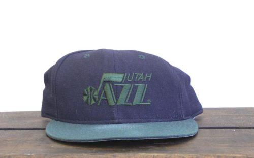 Utah jazz retro 90's throwback cap gift idea