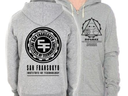 San Fransokyo hooded jacket
