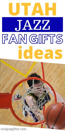 Basketball Themed Gifts | Gift Ideas for Basketball Fans | Utah Sports Themed Gifts | Utah Jazz Fan Merch Gifts | Utah Jazz logo Gifts | #jazz #utah #utahjazz #basketball #gifts