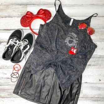 Make it a super stretch Minnie outfit for Disney world