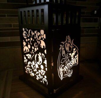 Fantasmic Disney porch light