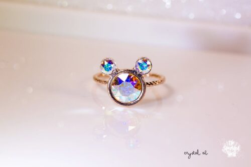 mickey adjustable ring
