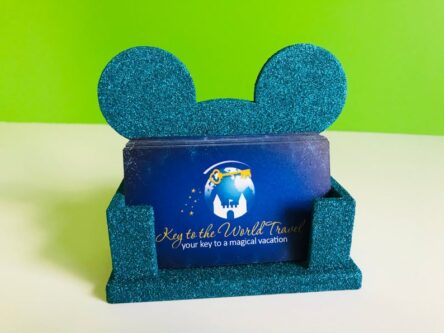 Mickey mouse gift card holder