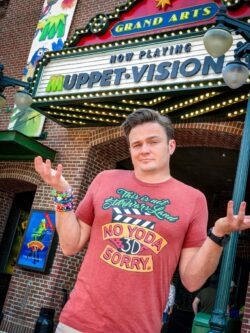 Muppet vision hollywood studios tee shit