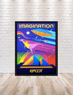 vintage style EPCT WDW poster